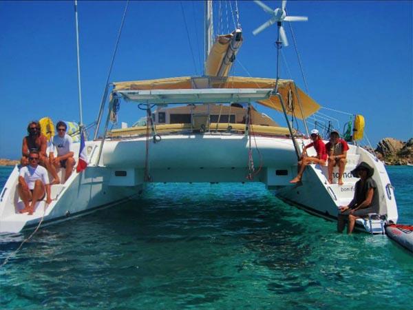 croisiere catamaran corse